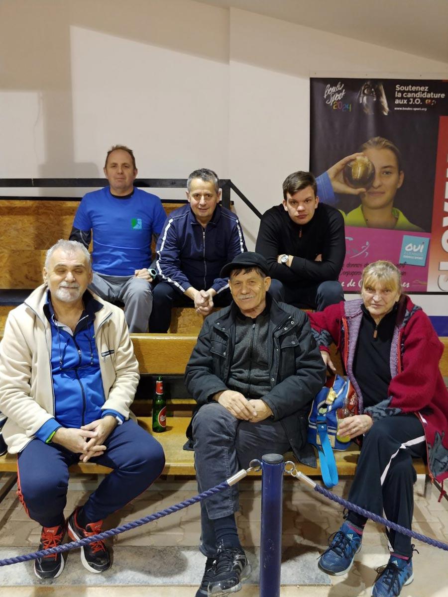 Ekipa balinarjev ŠD Trnovo - zimska liga