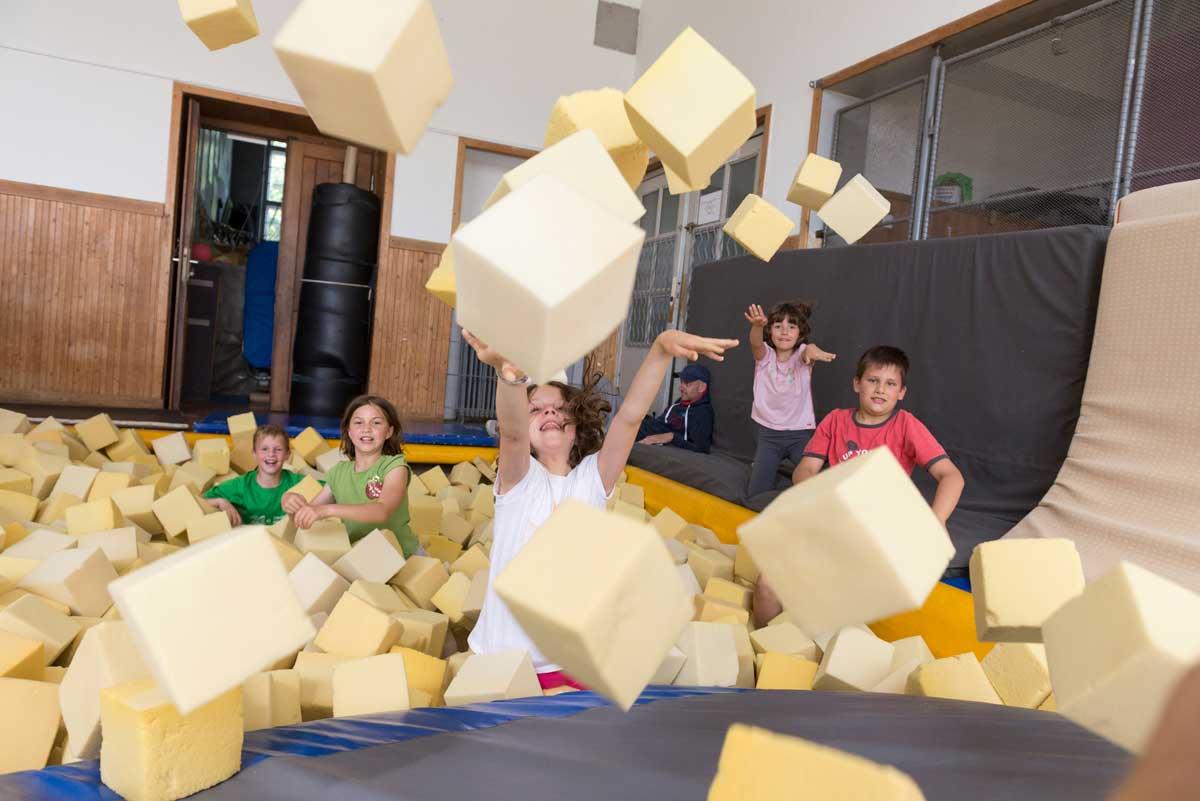 Praznovanje rojstnih dni za otroke s športnimi aktivnostmi